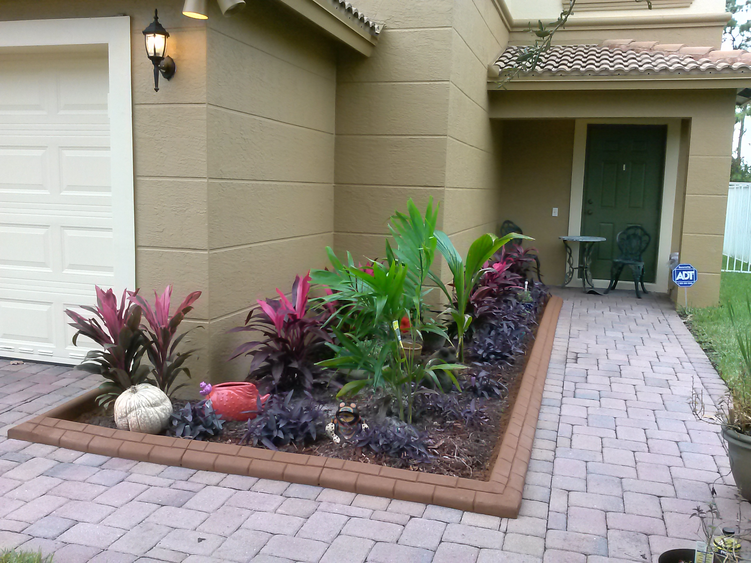 Decorative Stones For Flower Beds Curbs4us Concrete Curbs Residential And Commercial Concrete Works